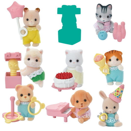 Sammelfiguren Serie 4 Baby Party  - 2