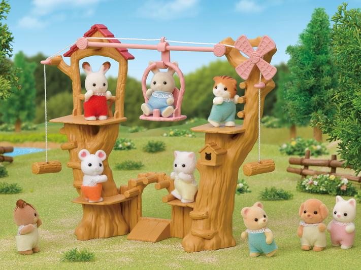 Parquinho nas Árvores do Bebê - 10