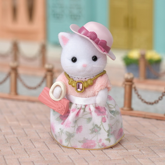 Fashion Play Set Town Girl Series - Persian Cat- - 11