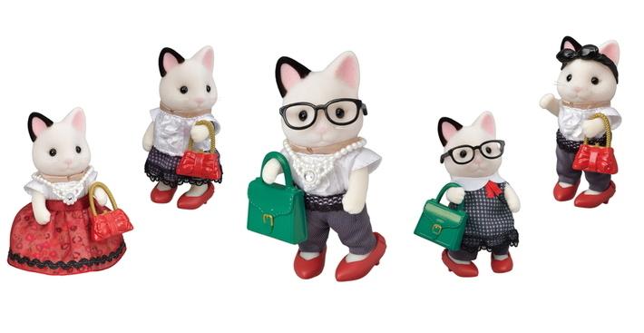 Fashion Play Set Town Girl Series - Tuxedo Cat- - 11