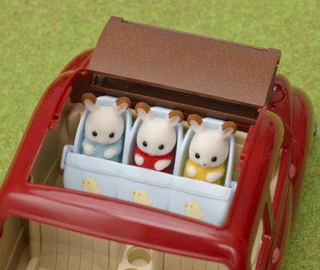 森林家族三胞胎嬰兒車 - 7