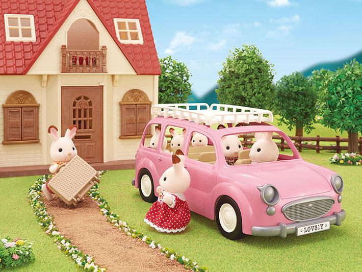 森林家庭粉紅汽車 - 9