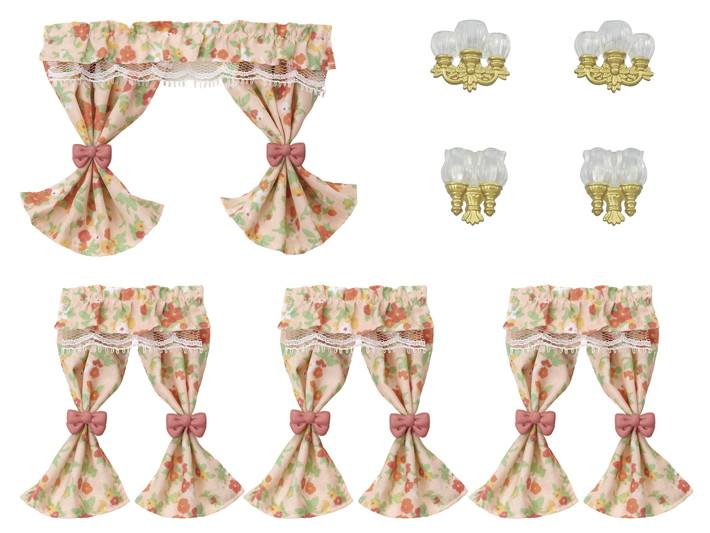 Conjunto Luminárias e Cortinas - 6