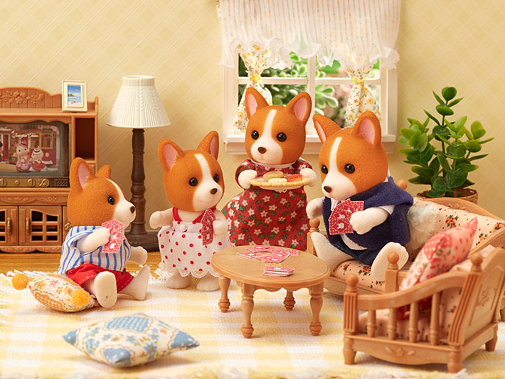 La famille chien corgi - 3