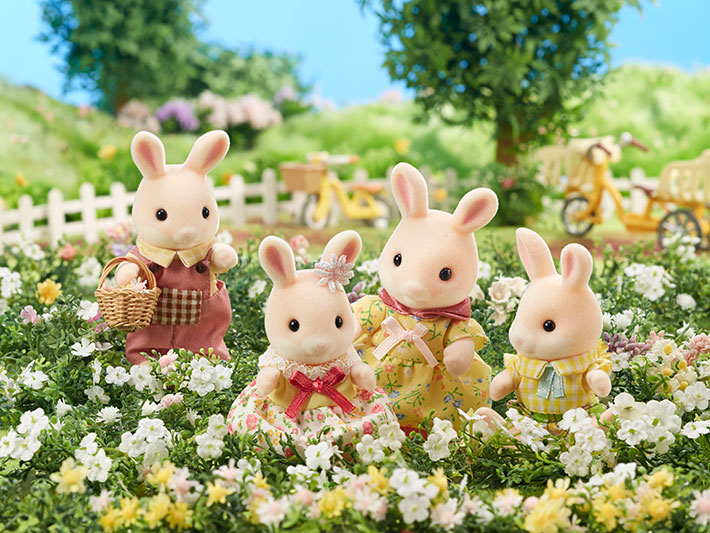 Marguerite Rabbit Family - 3