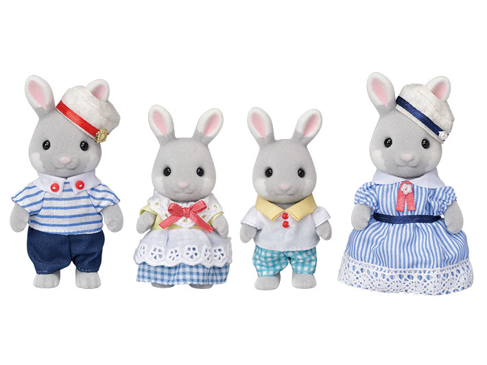 Sea Breeze Rabbit Family - 3