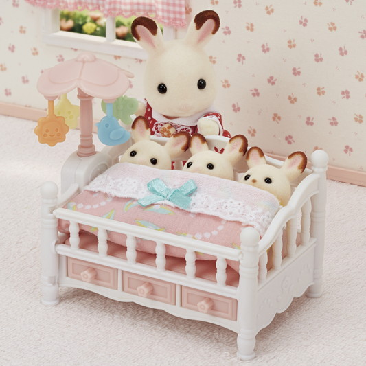 Crib with Mobile - 7