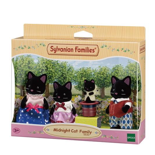 Schwarze Katzen Familie - 5