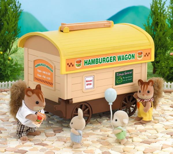 Hamburger Wagon with Chiffon Dog Father - 9