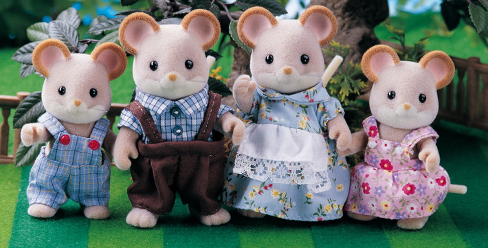 City Mouse Family - 5