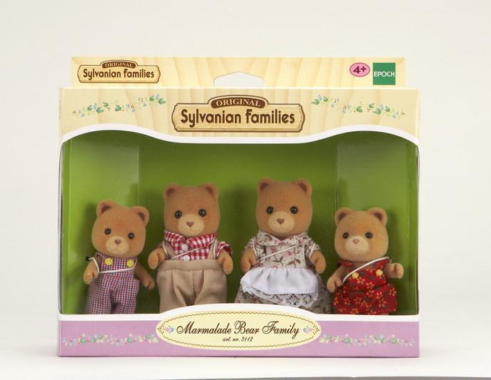 Famiglia orsi marmellata - 4