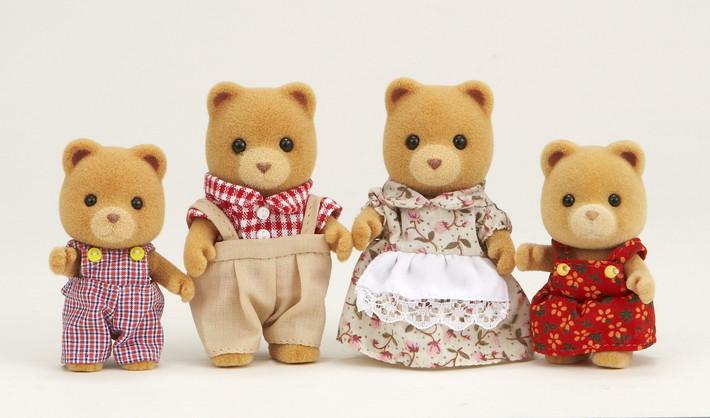 Marmalade Bear Family - 4
