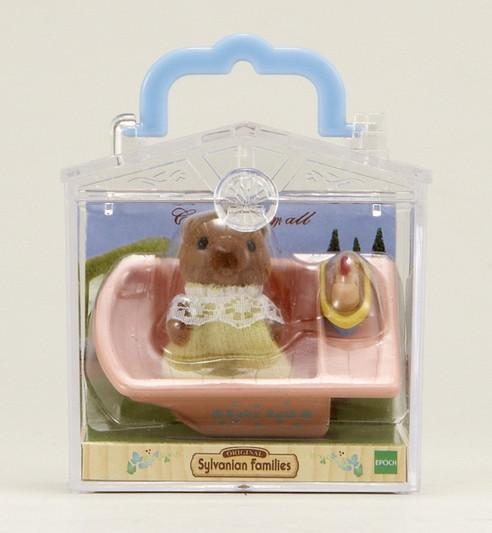 Малыш бобер в ванной - 4