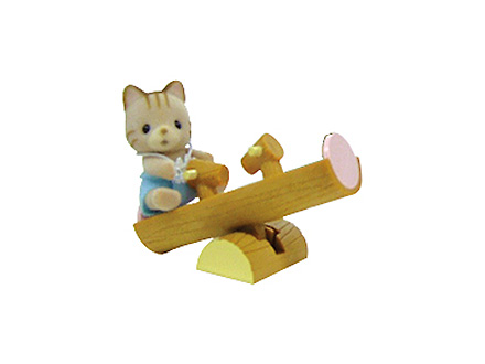 Baby Carry Case R7 (Cat on See-Saw) - 2