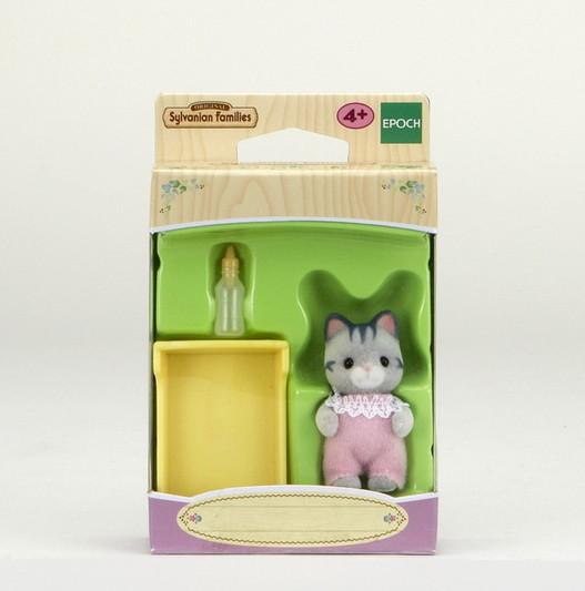 Gray Cat Baby - 3