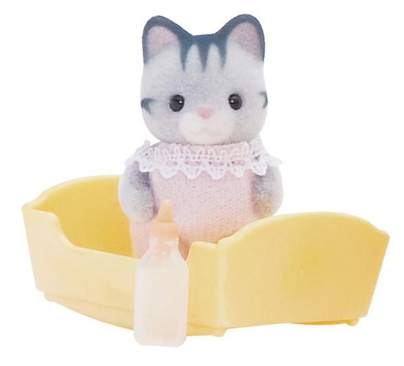 Szürke cica bébi - 3