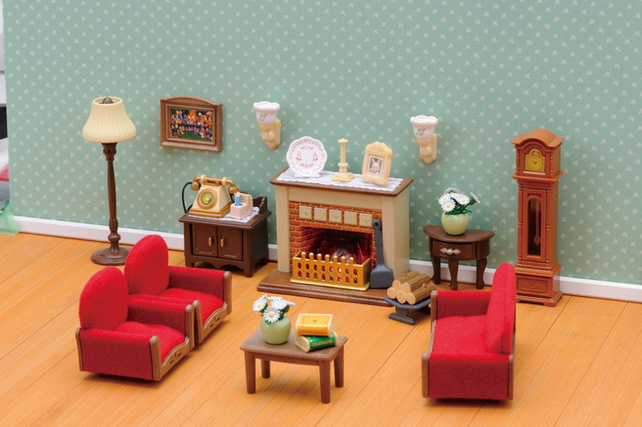 Luxury Living Room Set Sylvanian Families