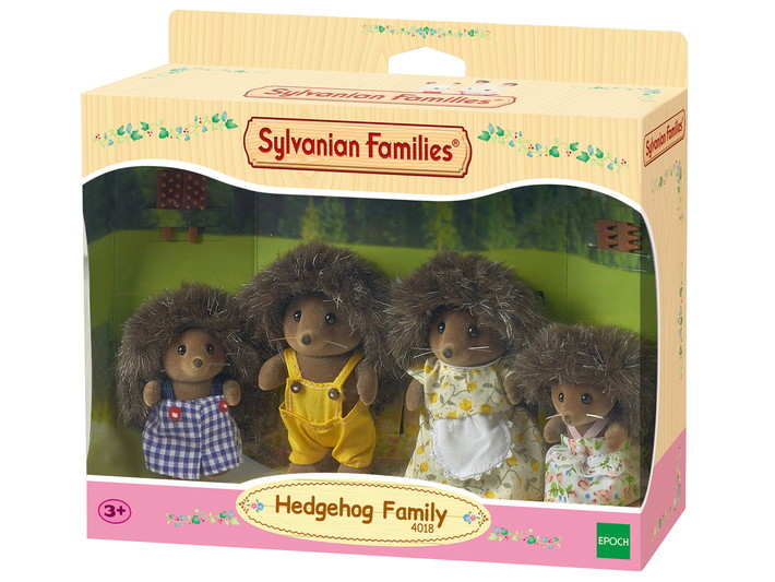 Hedgehog Family - 4