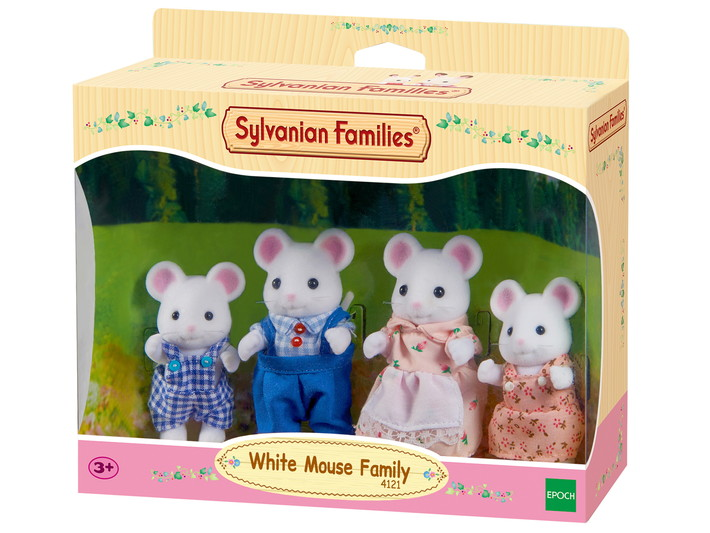White Mouse Family - 4