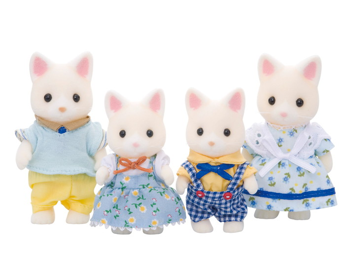 Silk Cat Family - 3
