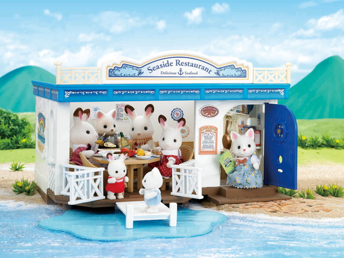 Seaside Restaurant Sylvanian Families