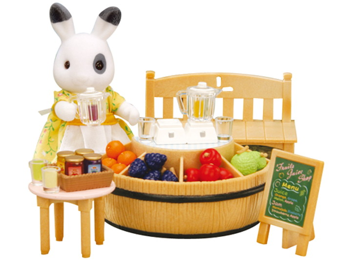 Juice Bar and Figure Set - 6