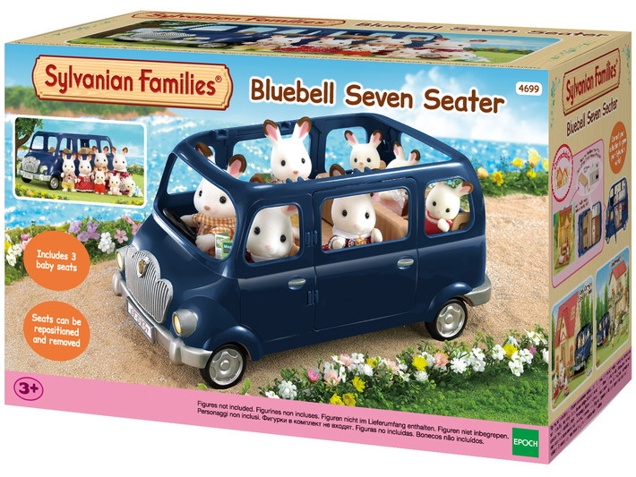 Bluebell Seven Seater - 7