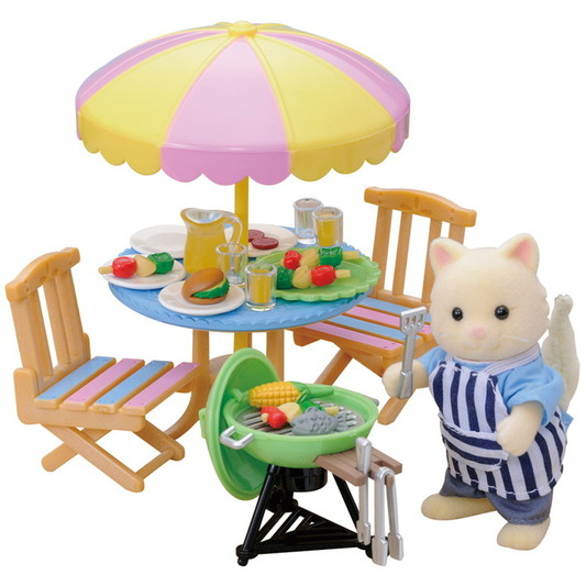 Garden Barbecue Set - 6