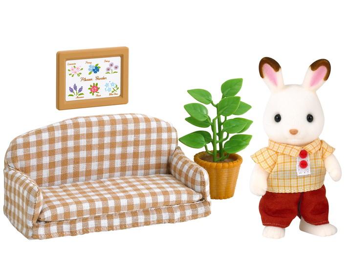 Le papa lapin chocolat et salon - 4