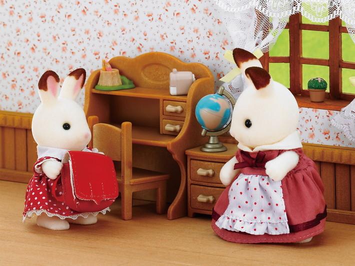 Chocolate Rabbit Sister Set - 4