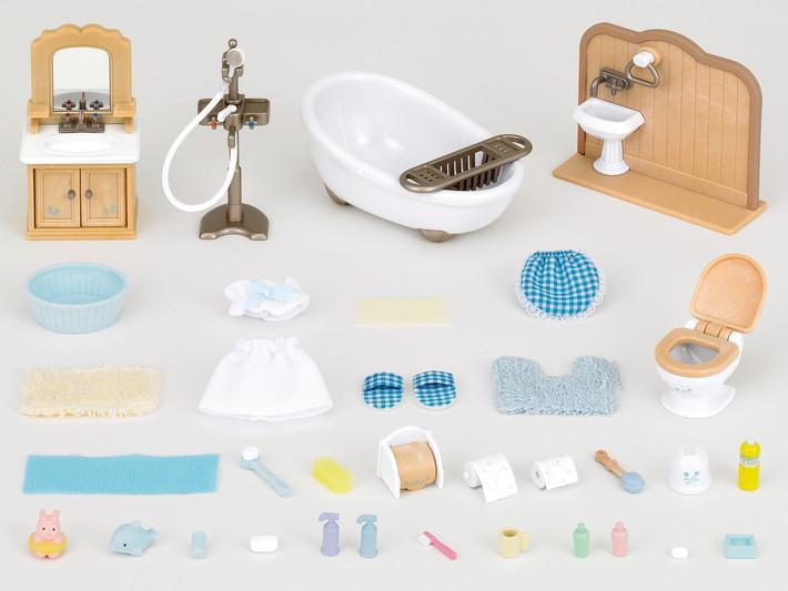 Sylvanian Families bathroom set