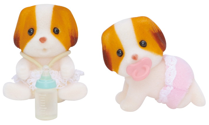 Chiffon Dog Twin Babies - 4