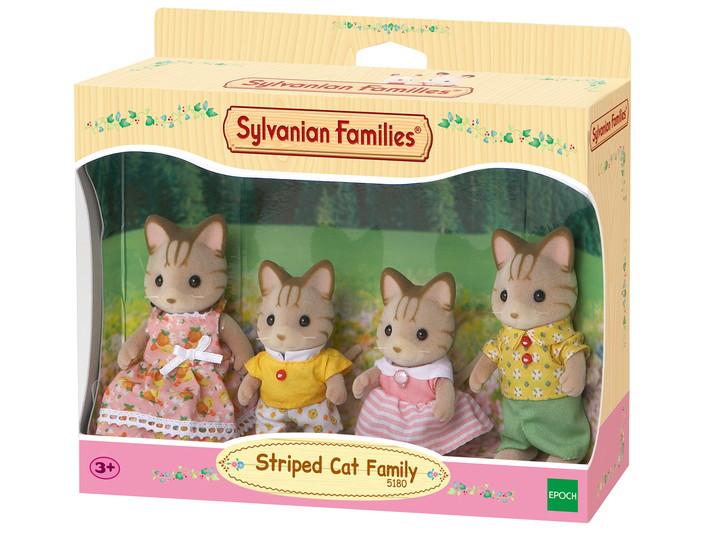 Семья Полосатых Кошек - 4