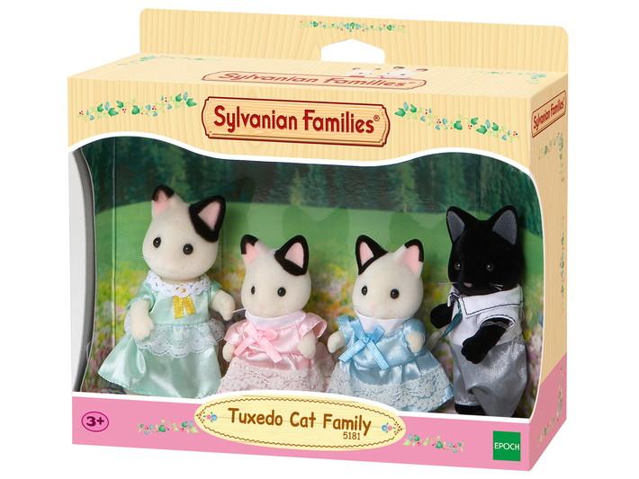 Smokinli Kedi Ailesi - 4