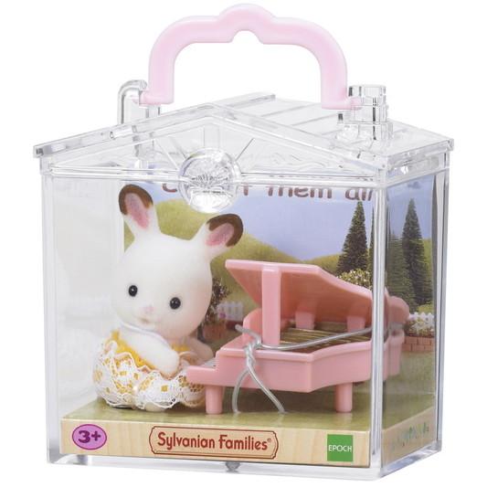 Le bébé lapin et piano - 3