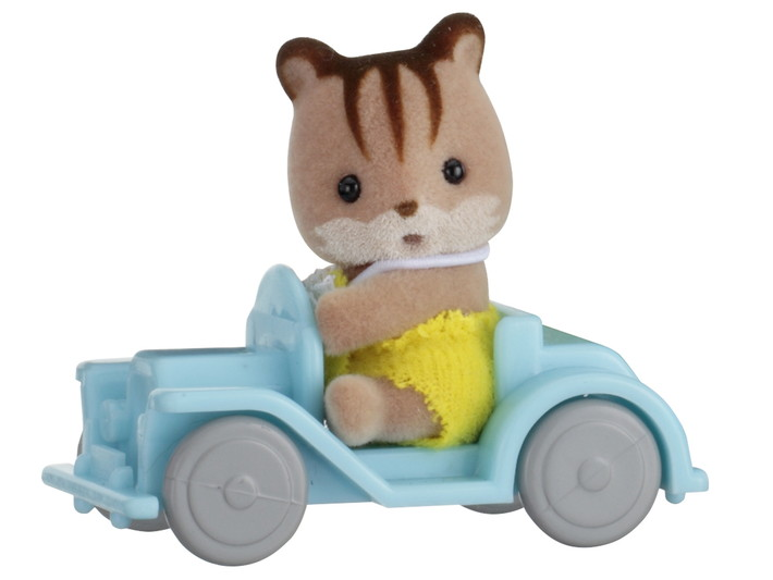 Baby Carry Case (Squirrel on Car) - 3