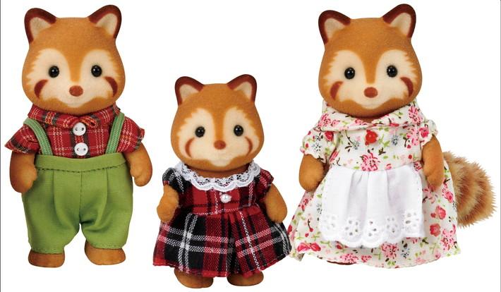 Familia Panda Rojo - 3
