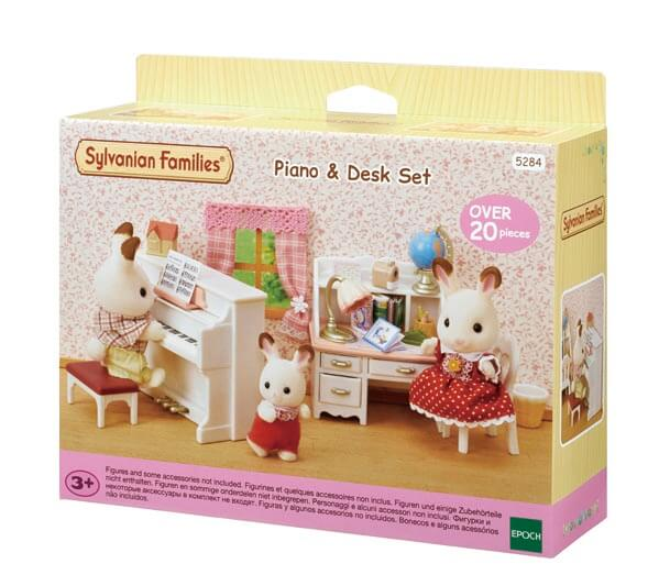 Piano & Desk Set - 8