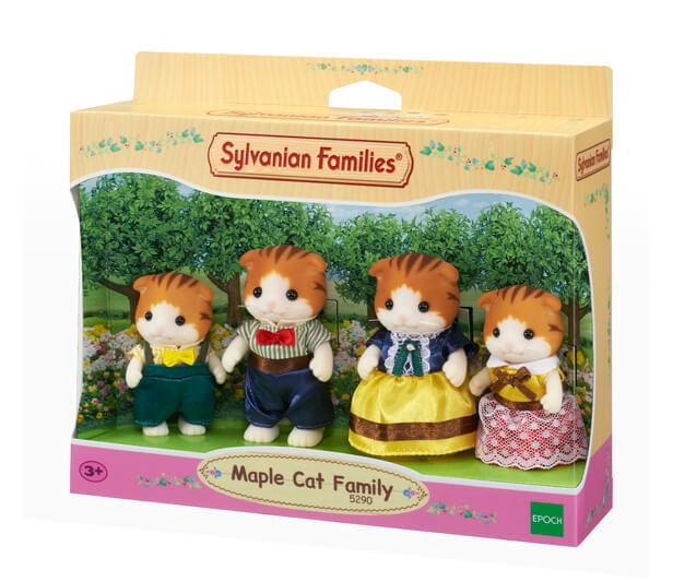 Familia Gato Maple - 4