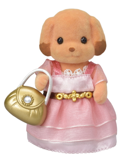 Town Girl Series  - Poodle Toy - - 3