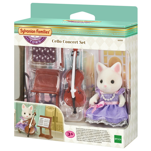 Cellokonzert Set (inkl. 1 Figur) - 7