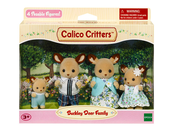 Buckley Deer Family Calico Critters