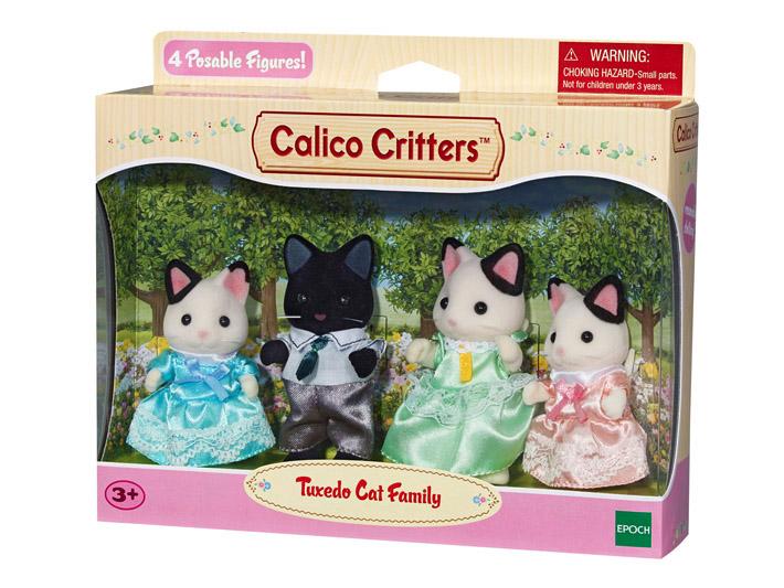 Tuxedo Cat Family - 4