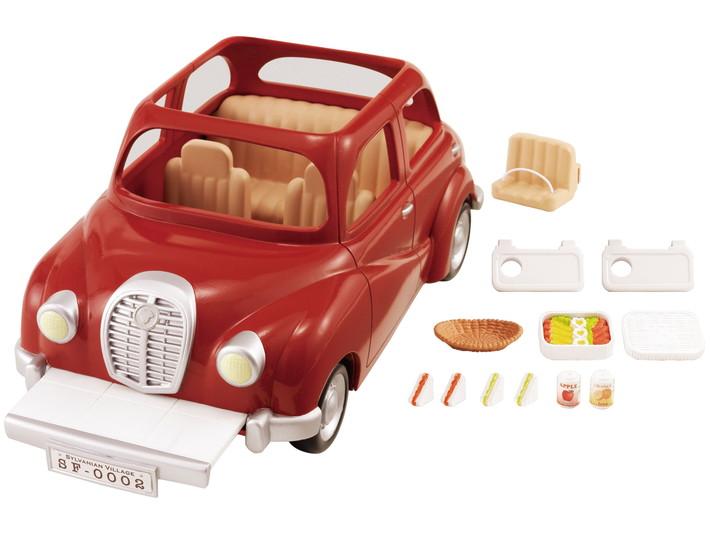 Семейный автомобиль красный - 7