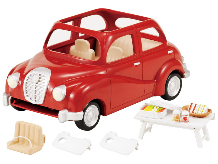 La voiture rouge - 7