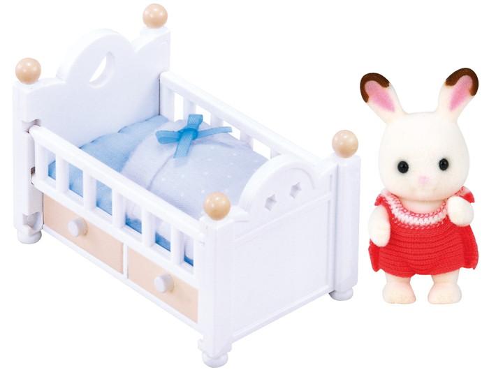 Set Bebé Conejo Chocolate (cama) - 4