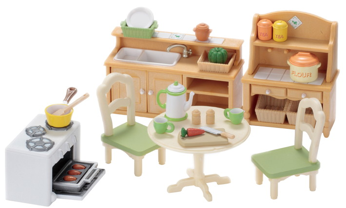 Кухня в коттедже - 8
