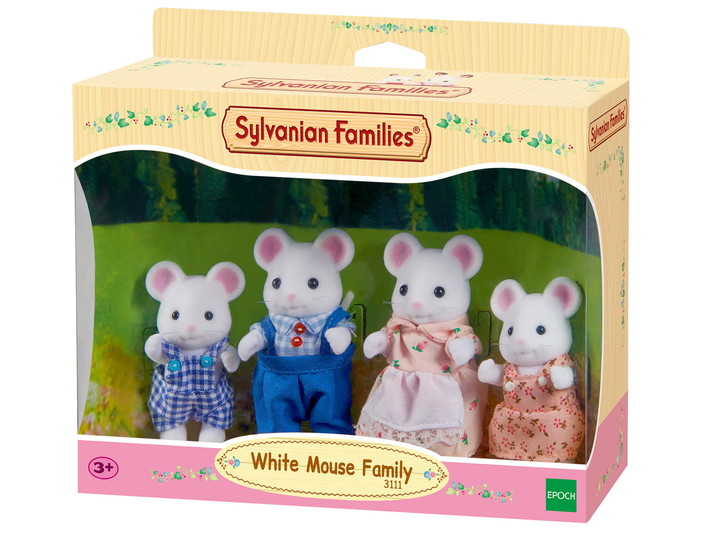 White Mouse Family - 4