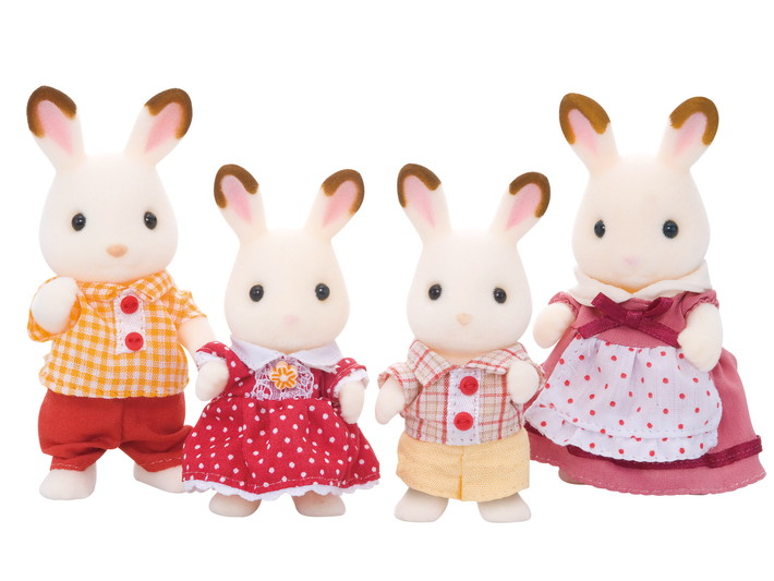 Chocolate Rabbit Family - 7