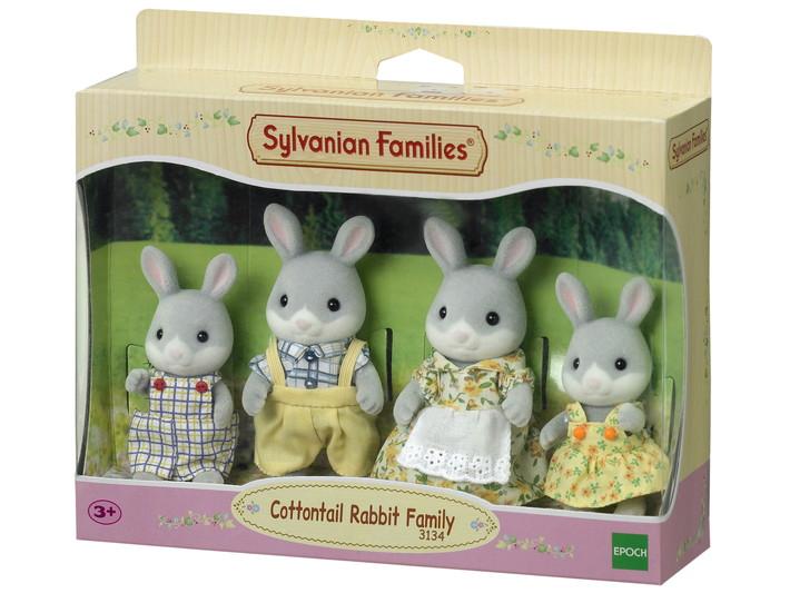 La famille lapin gris - 4